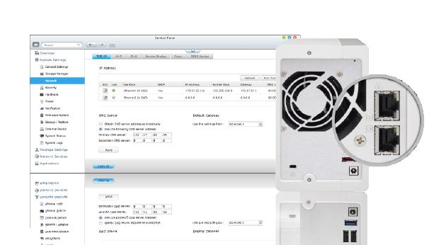 Buy the QNAP TS-231P NAS Server 2-Bay SATA 6G, Alpine AL-212